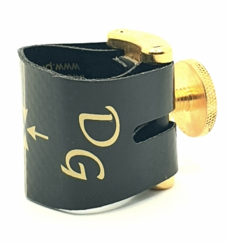 Dave Guardala Maxima Deluxe Ligature and Cap Gold for Tenor